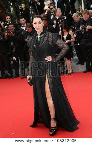 Rossy de Palma  attends the 'Macbeth' Premiere during the 68th annual Cannes Film Festival on May 23, 2015 in Cannes, France.