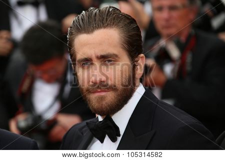 Jake Gyllenhaal  attends the closing ceremony during the 68th annual Cannes Film Festival on May 24, 2015 in Cannes, France.