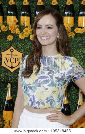 LOS ANGELES - OCT 17:  Ahna O'Reilly at the Sixth-Annual Veuve Clicquot Polo Classic at the Will Rogers State Historic Park on October 17, 2015 in acific Palisades, CA