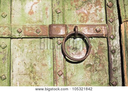 old door handle ring
