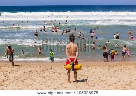 Lifeguard Beach Ocean Public