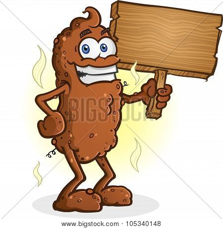Poop Standing Sign.eps