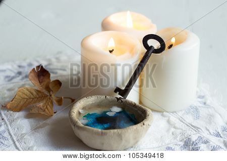 divination of wax