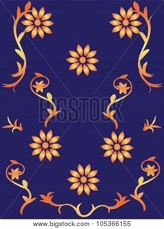 wallpaper with flowers
