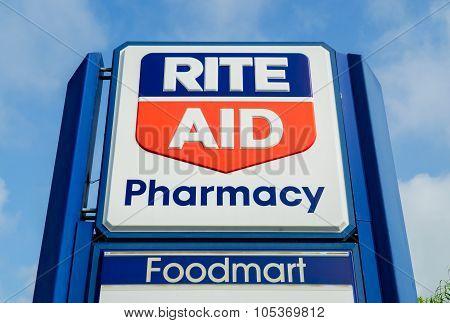 Rite Aid Pharmacy Store Exterior