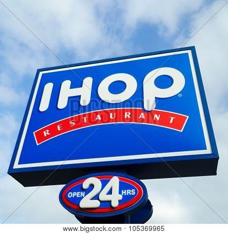Ihop Restaurant Sign
