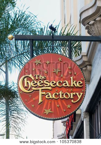 The Cheesecake Factory Sign And Logo