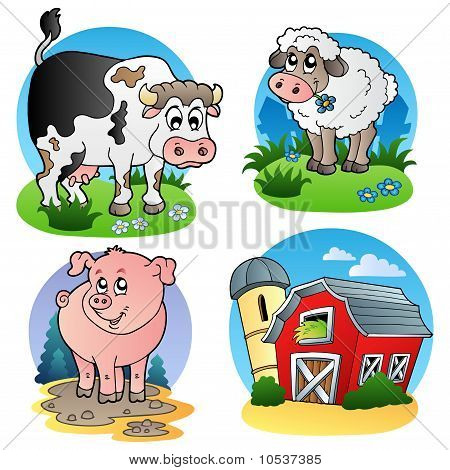 Various Farm Animals 1