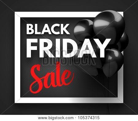 Black Friday Sale concept background.