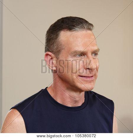 Adult Male Smiling Portrait