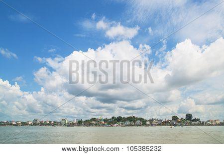 The Waterfront Of Myeik, Myanmar