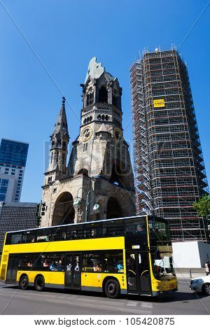 Church Of The Kaiser Wilhelm In Berlin