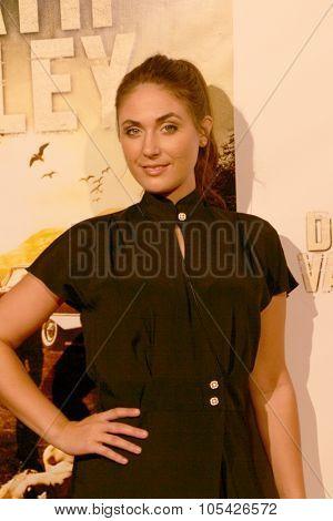 LOS ANGELES- OCT 17: Kristin Naomi Garcia arrives at the
