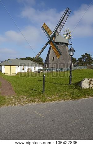 Nebel (amrum) - Wind Mill