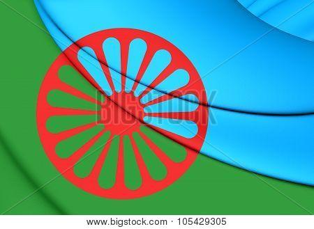 Flag Of Romani People