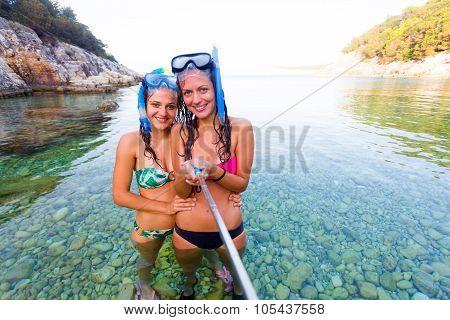 Selfie Time Before Snorkeling