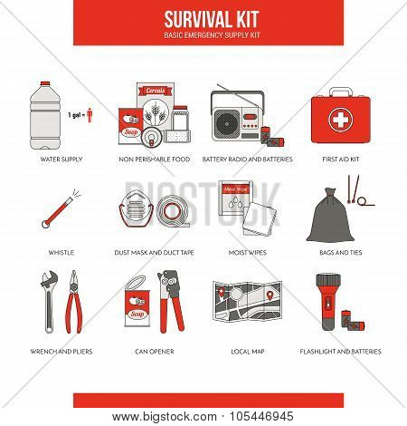 Survival Emergency Kit