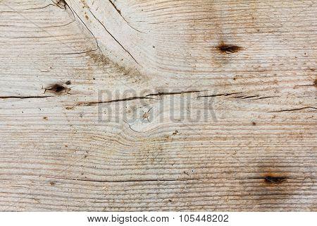 Wood Texture With Nail Holes Close Up