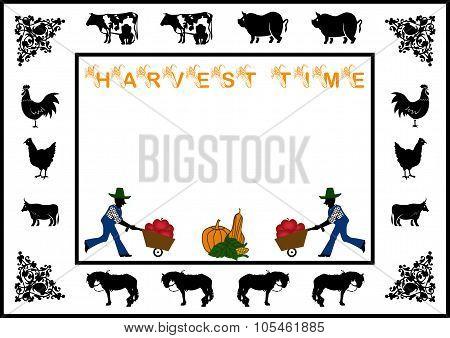 Harvest Time Border