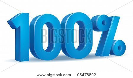 Percentage vector, 100
