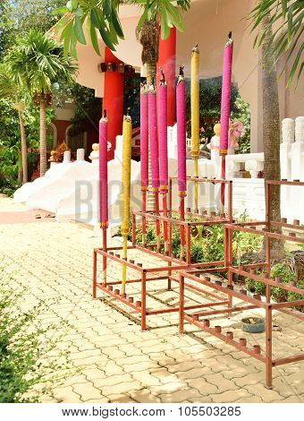 Giant Colorful Joss Sticks