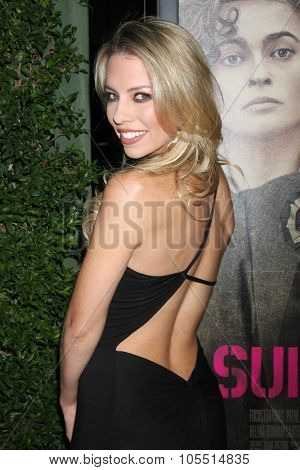 LOS ANGELES - OCT 20:  Lindsay McCormick at the