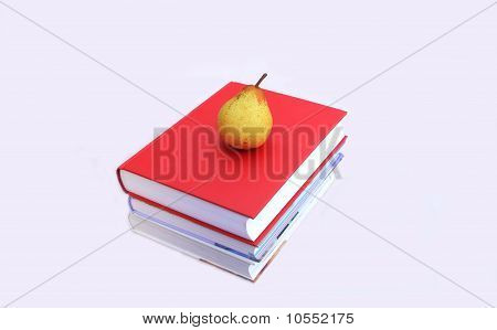 Books with a Pear on Top