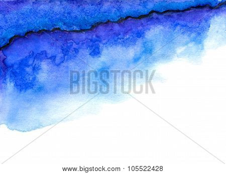 Blue and purple abstraction