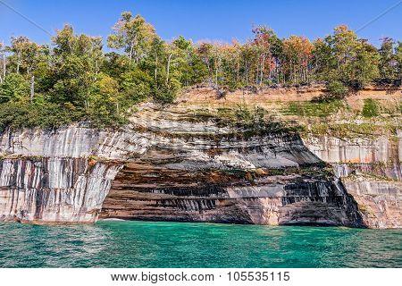 Pictured Rocks Alcove