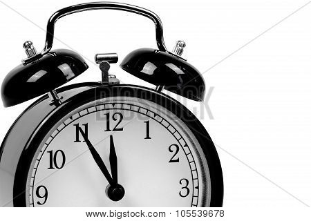 Black Alarm Clock - It Is High Time!