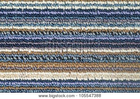 Texture Of Fabric Doormat