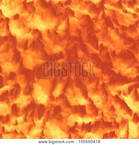Burning lava fire seamless and tileable background HD texture. Purchasing this texture you will get a single jpeg file with 3000x3000 px dimension and 300 dpi resolution. poster