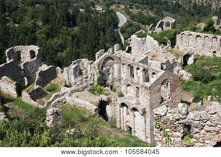 View Of Mystras