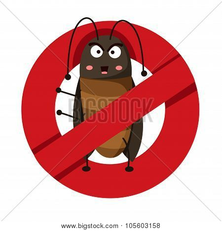 Illustration of anti cockroach
