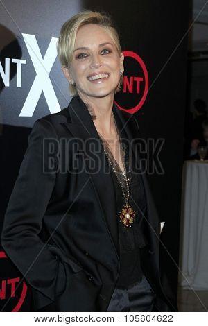 LOS ANGELES - OCT 20:  Sharon Stone at the TNT's