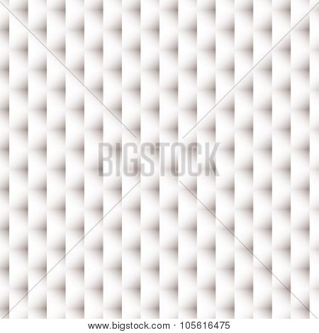 White paper background with woven design and shadow effect