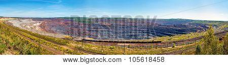 Mikhailovsky Iron Mine Within Kursk Magnetic Anomaly, Russia