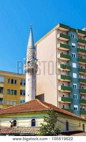 Xhamia e Osmonit Mosque in Pristina - Kosovo poster