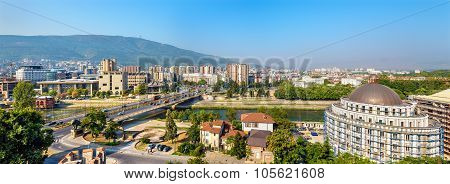 Panorama Of Skopje From The Fortress - Macedonia