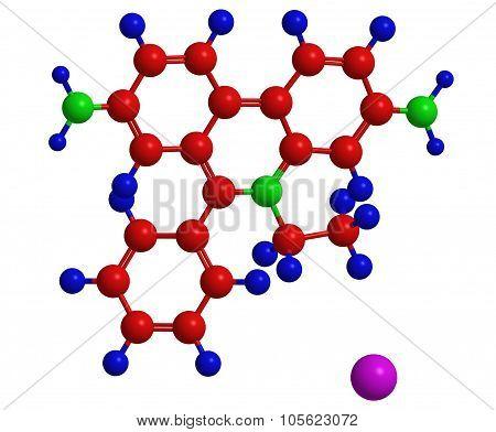 Molecular Structure Of Ethidium Bromide