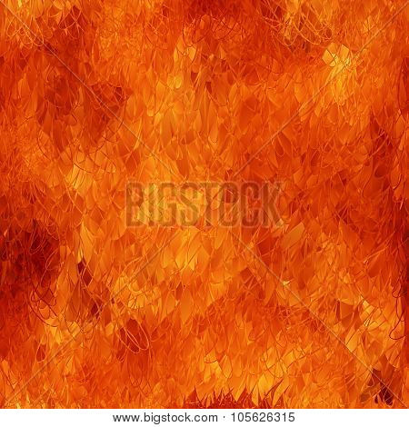 Flame Seamless Background