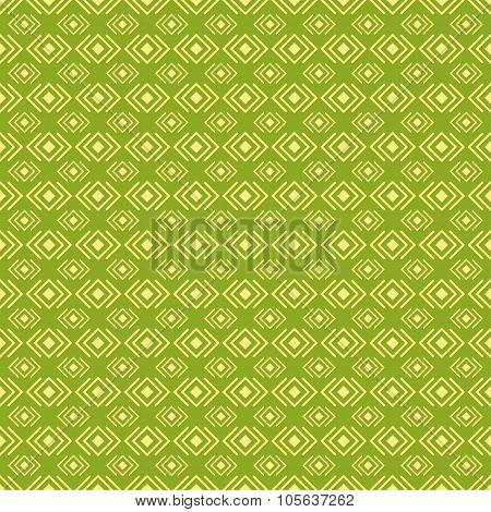 Geometric diamond shape seamless pattern, vector
