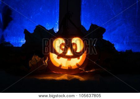 Photo For A Holiday Halloween, Mad Pumpkin