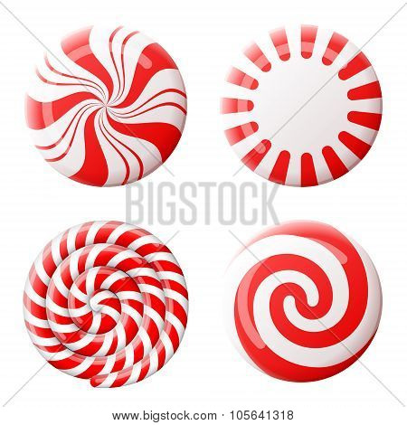 Christmas Round Candy Set