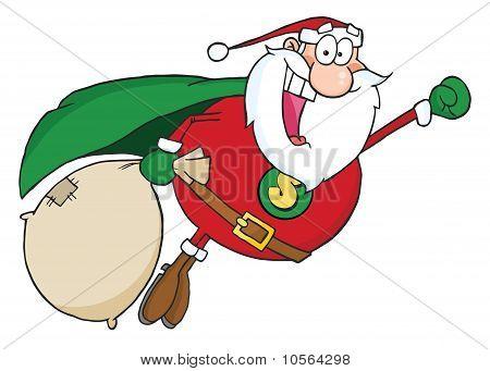Super Santa Claus Fly