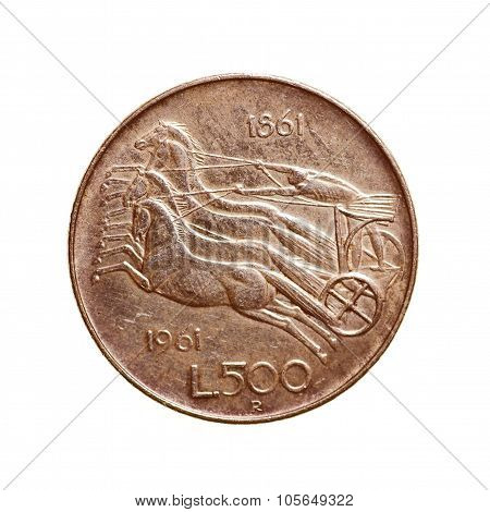 Retro Look Vintage Coin