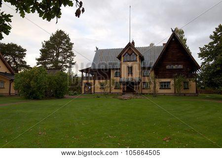 Front View Of Zorngarden In Mora