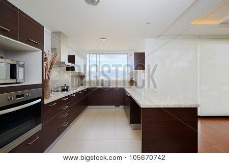 Interior design: Modern kitchen