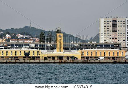Port of Setubal in Portugal