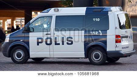 Car of law enforcement in Finland